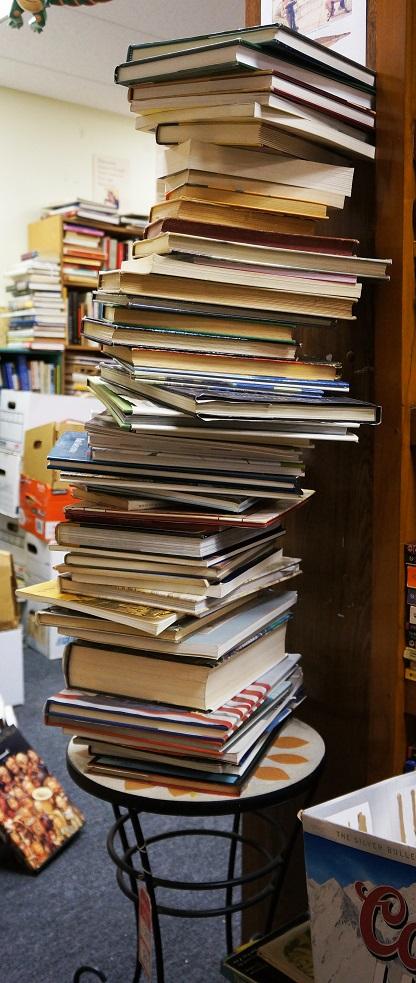 Book Stalagmite